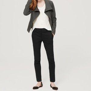 Loft Marisa Skinny  - Black Pants